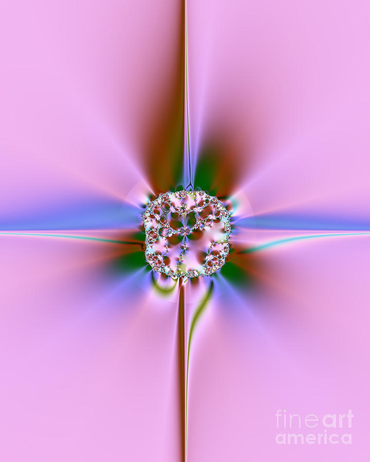 Jewel Digital Art  - Jewel Fine Art Print