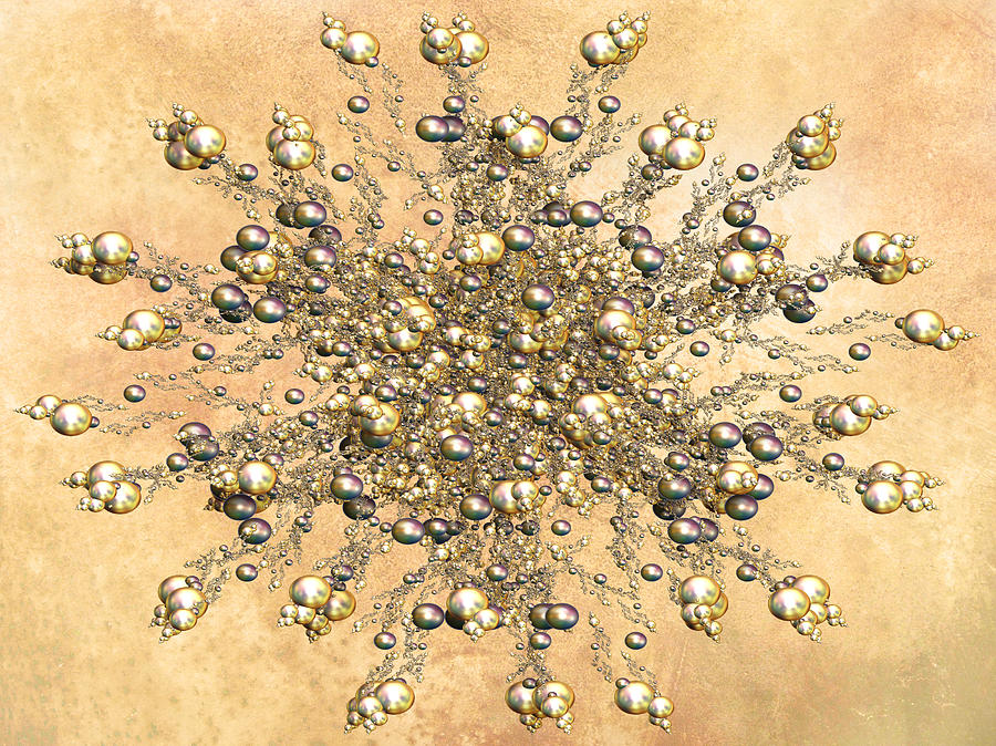 Jewels In The Sand Digital Art  - Jewels In The Sand Fine Art Print
