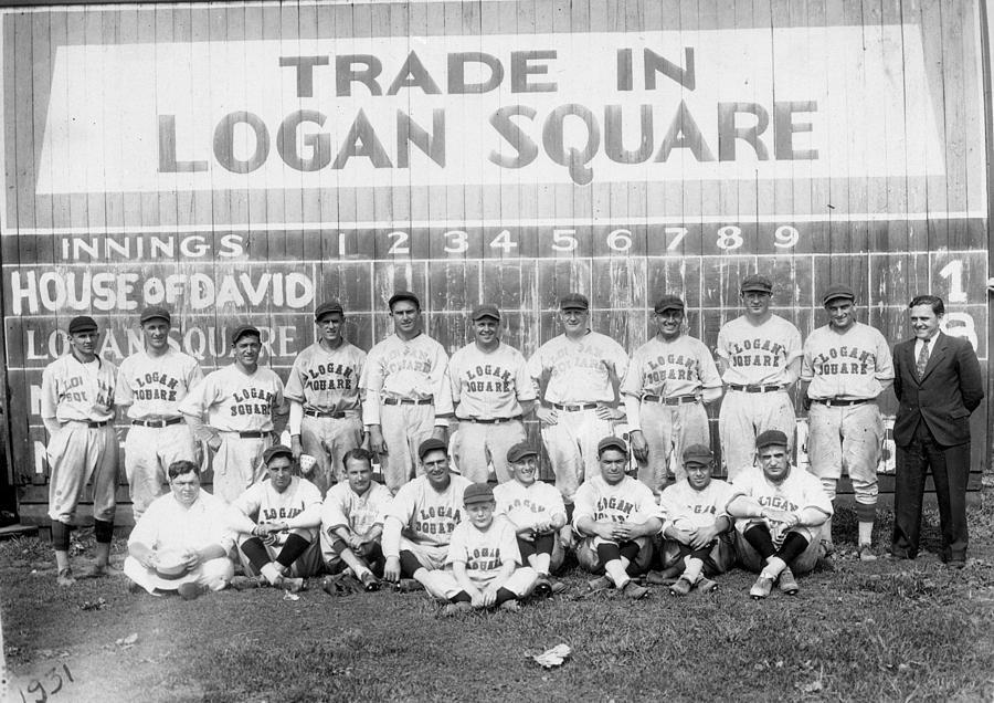 George Photograph - Logan Squares Semi-pro  by Retro Images Archive