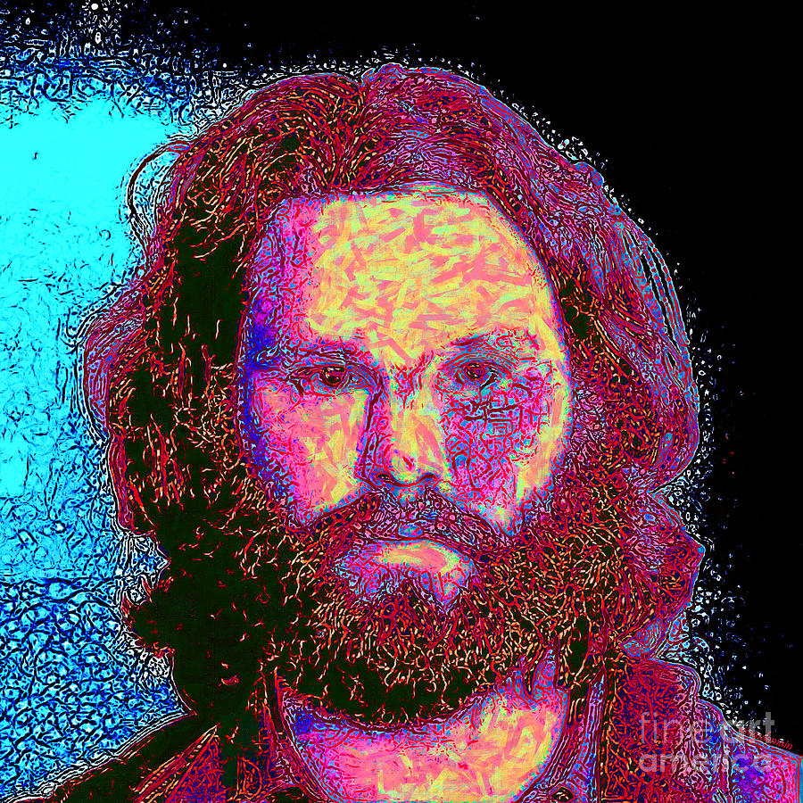 Jim Morrison 20130329 Square Photograph  - Jim Morrison 20130329 Square Fine Art Print