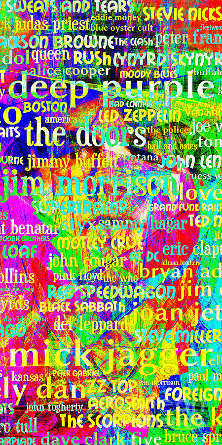 Jim Morrison Classic Rock 20130626 Long Photograph  - Jim Morrison Classic Rock 20130626 Long Fine Art Print