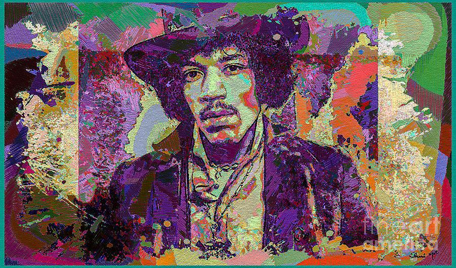 Jimi Hendrix Digital Art