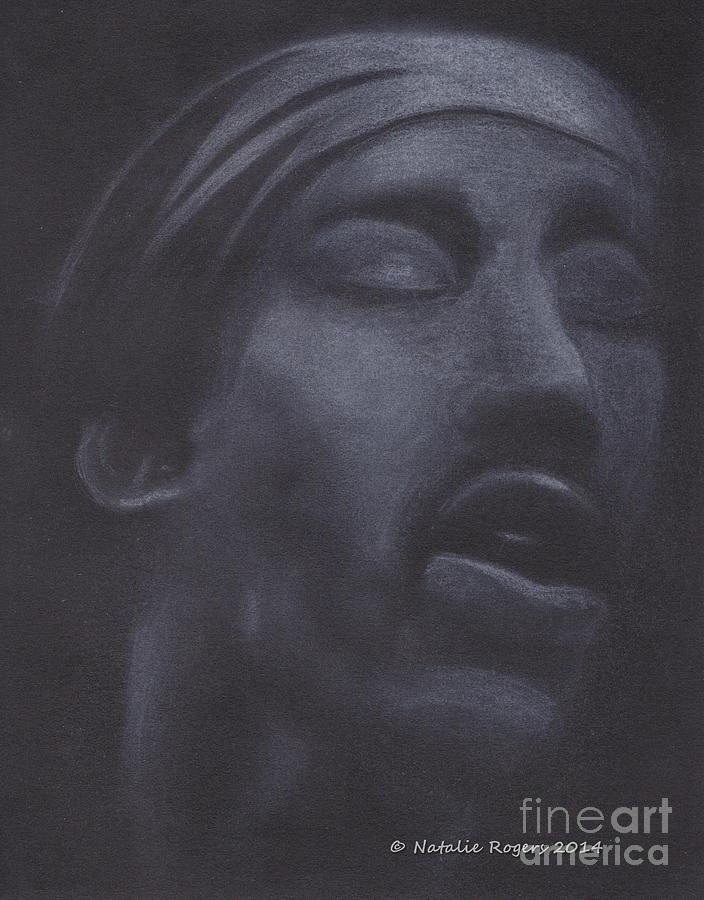 Jimi Drawing - Jimi Hendrix by Natalie Rogers
