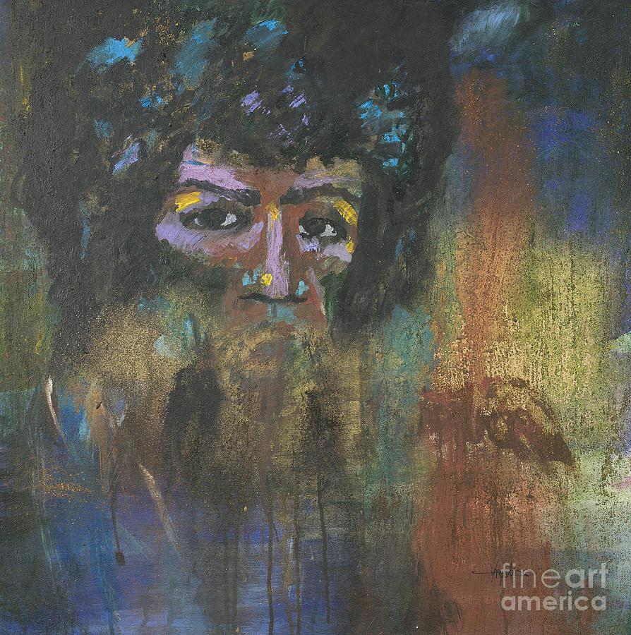 Jimi Hendrix Painting - Jimi Hendrix by Vic  Mastis