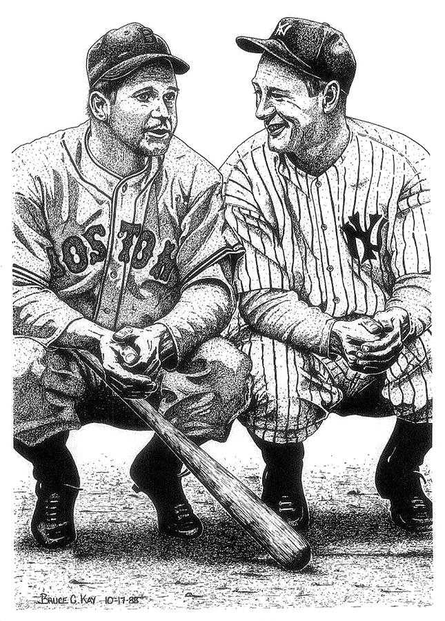 Jimmie And Lou Drawing