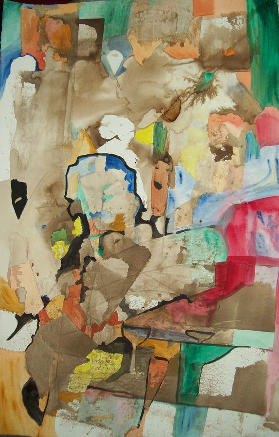Abstract Painting - Jims Night by James Christiansen