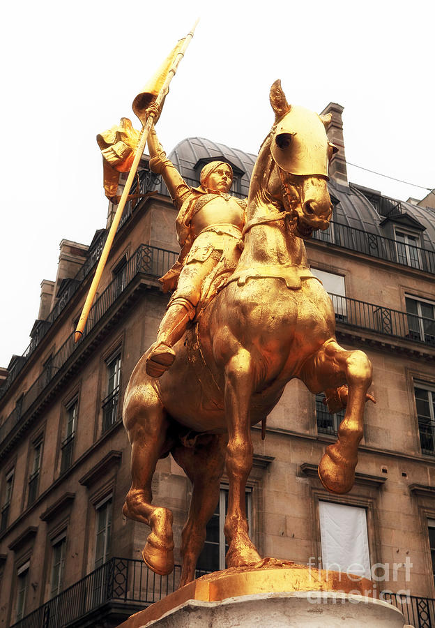 Joan Of Arc Statue Photograph