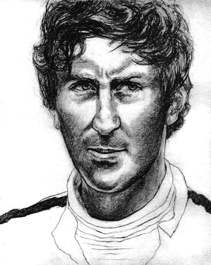 Jochen Rindt Drawing