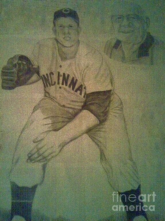 Joe Nuxhall Drawing