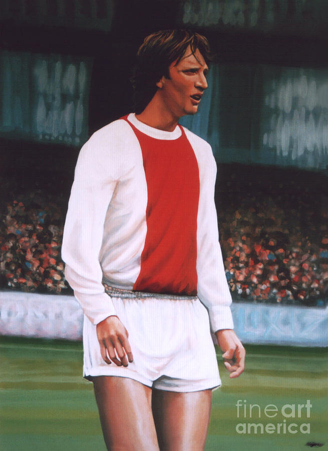 Johan Cruijff  Painting