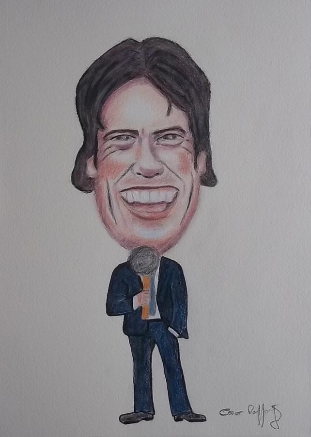 John Bishop Caricature Drawing