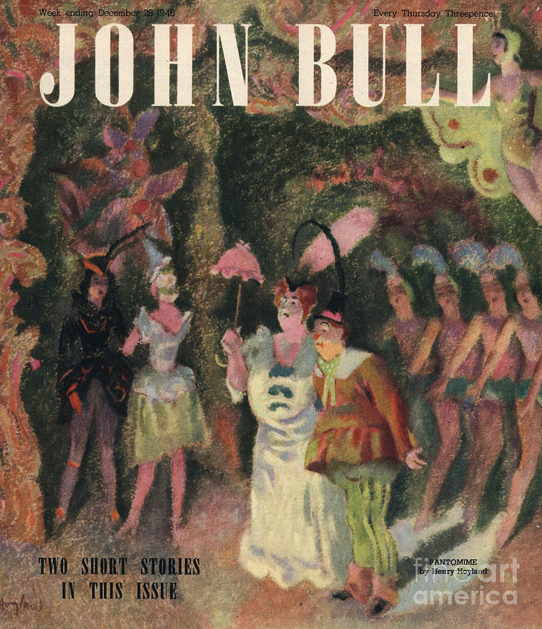 John Bull 1946 1940s Uk Pantomimes Drawing