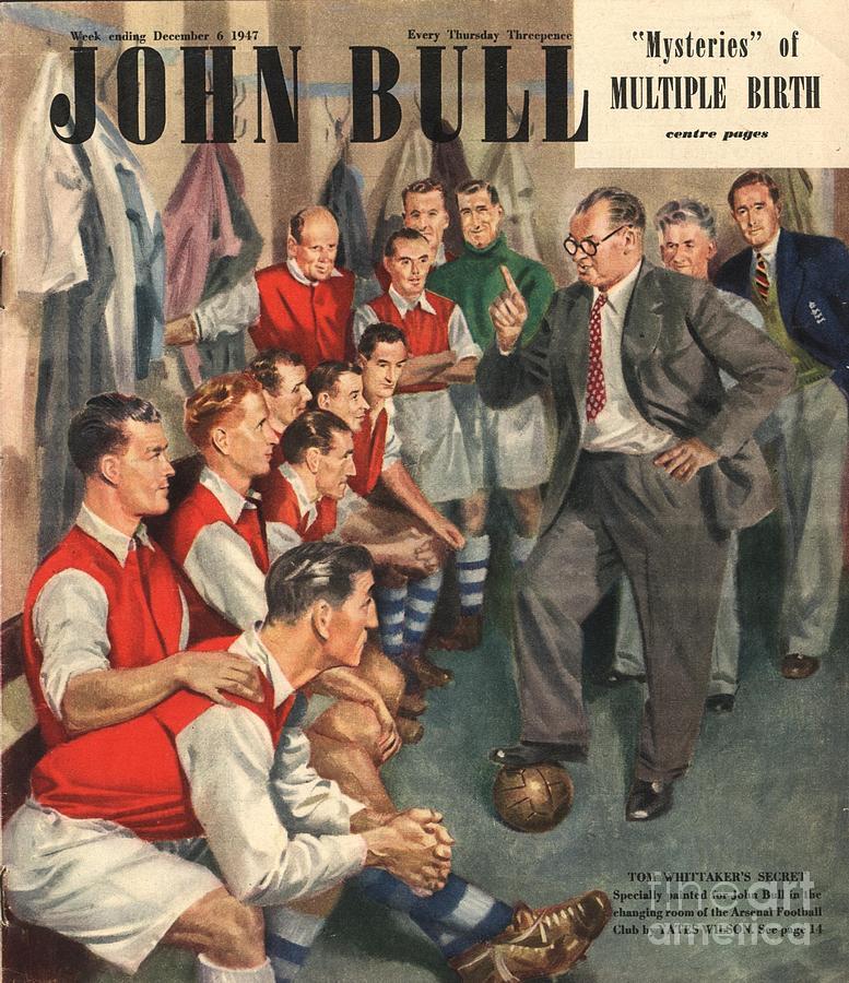 John Bull 1947 1940s Uk  Arsenal Drawing