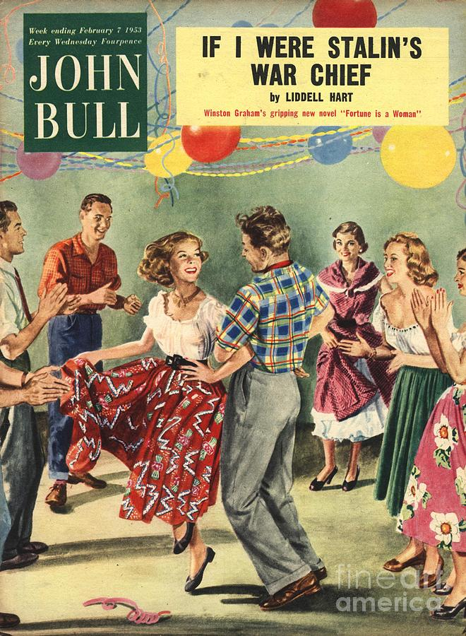 1950Õs Drawing - John Bull 1950s Uk  Line Country Square by The Advertising Archives