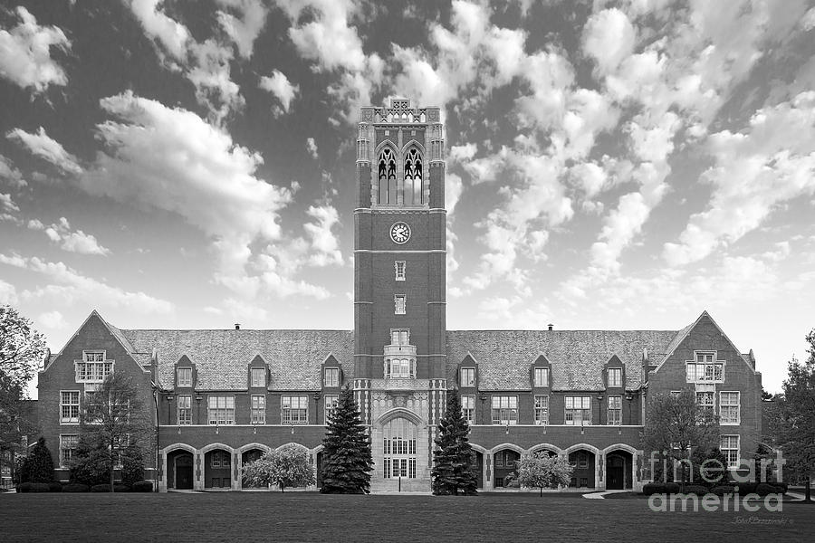 John Carroll University Administration Building Photograph  - John Carroll University Administration Building Fine Art Print