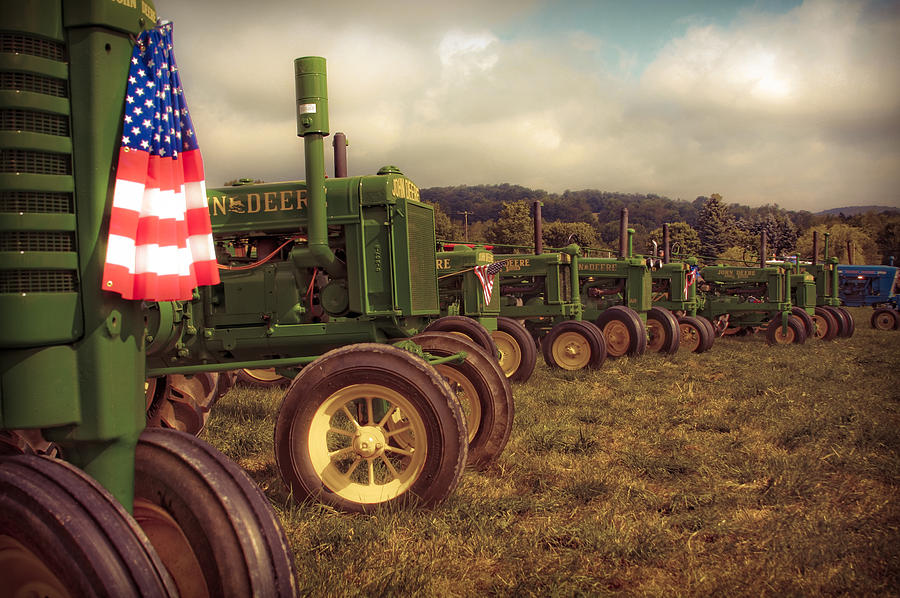 John Deere Line-up Photograph