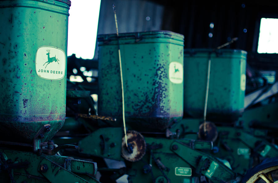 Johndeere Photograph - John Deere by Off The Beaten Path Photography - Andrew Alexander