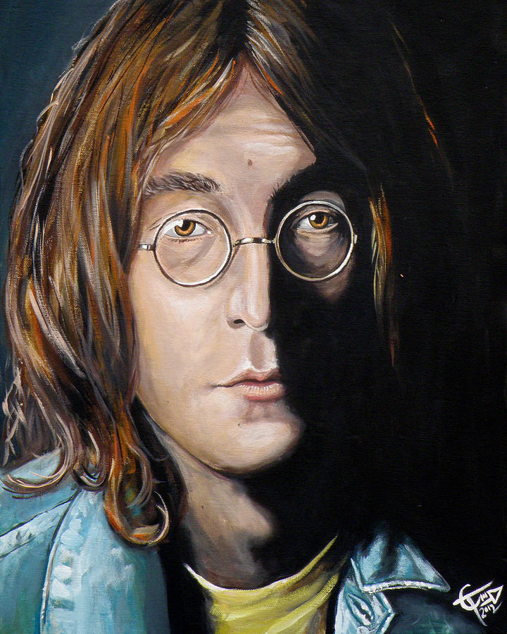 John Lennon 2 Painting
