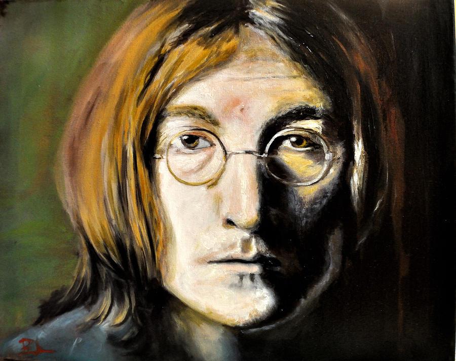 John Lennon Unseen Painting