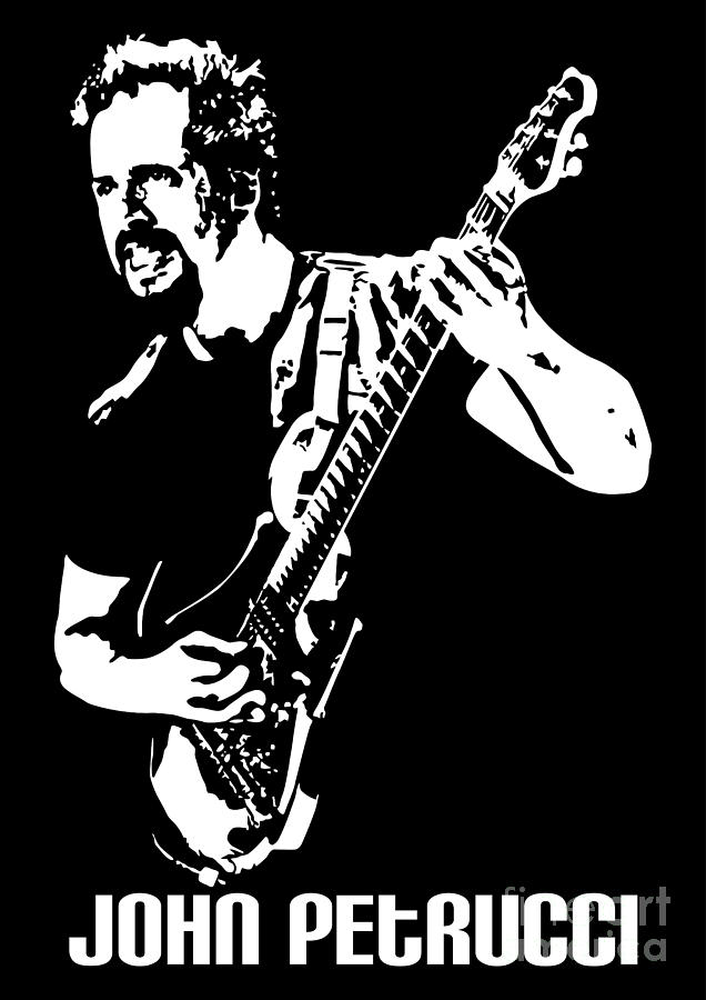 John Petrucci No.01 Digital Art