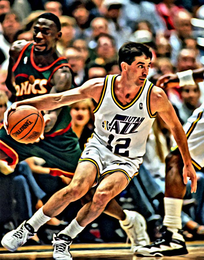 John Stockton Painting  - John Stockton Fine Art Print