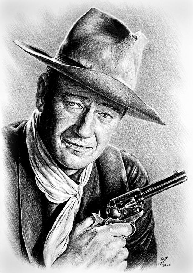 Gallery images and information: John Wayne Sketch