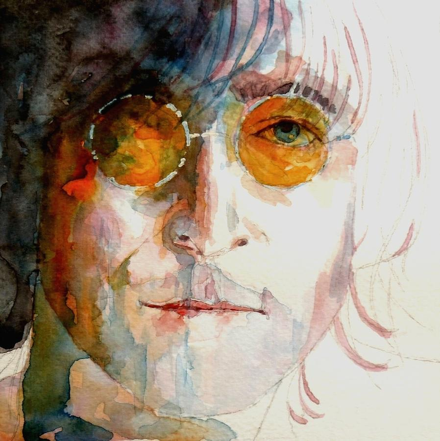 John Lennon  Painting - John Winston Lennon by Paul Lovering