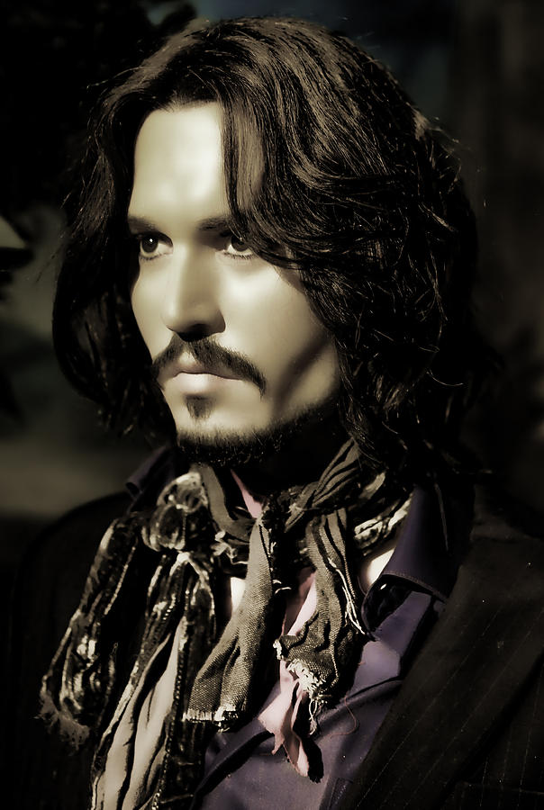 Johnny Depp Photograph  - Johnny Depp Fine Art Print