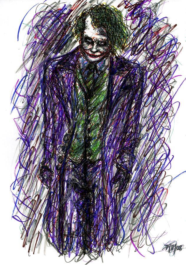 Joker - Standing Drawing