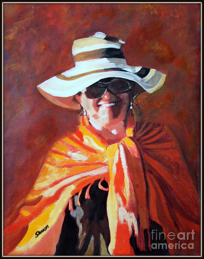 Jolanta By Sharon Burger Painting  - Jolanta By Sharon Burger Fine Art Print