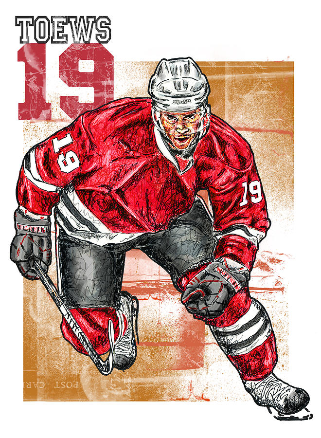 Jonathan Toews Mixed Media  - Jonathan Toews Fine Art Print
