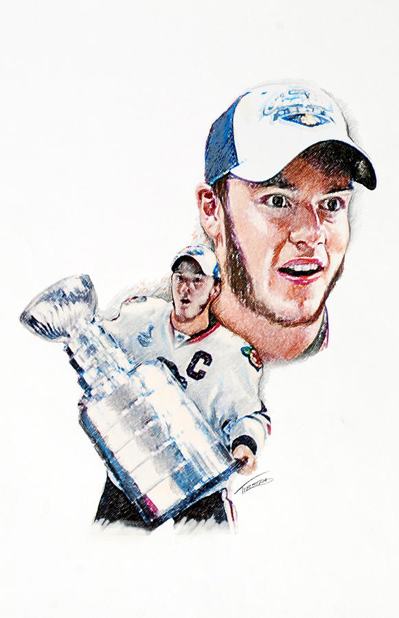 Jonathan Toews - The Season Drawing