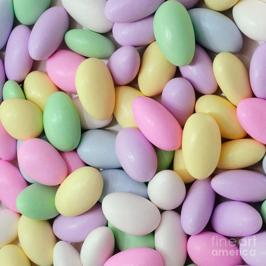 Jordan Almonds - Weddings - Candy Shop - Square Photograph