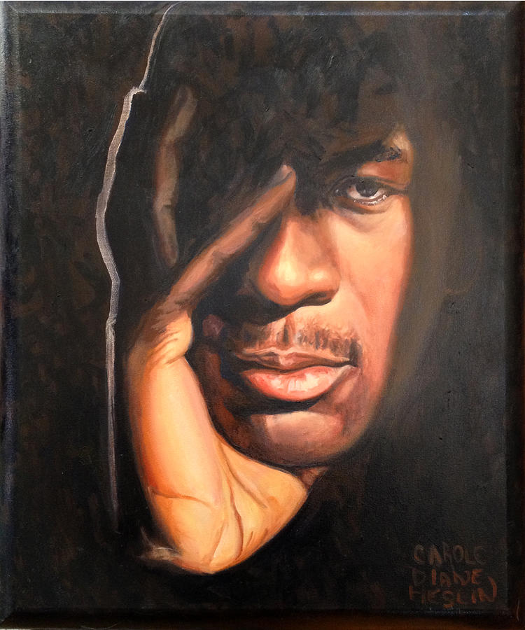 Michael Painting - Jordan by Carole Heslin