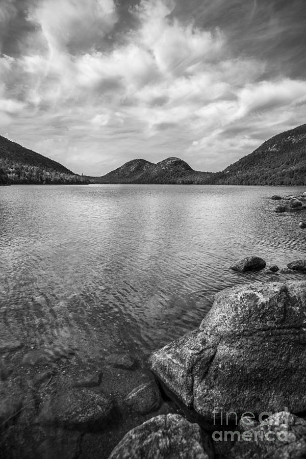 Jordan Pond Acadia National Park Maine. Photograph