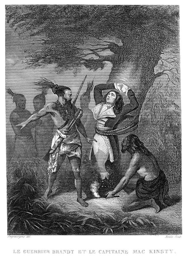1776 Photograph - Joseph Brant (1742-1807) by Granger