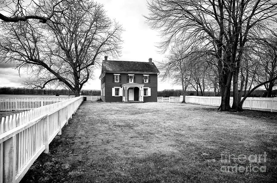 Joseph Serfy House Bw Photograph