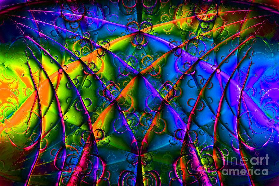 Fractal Digital Art - Journey 20130511v1 by Wingsdomain Art and Photography