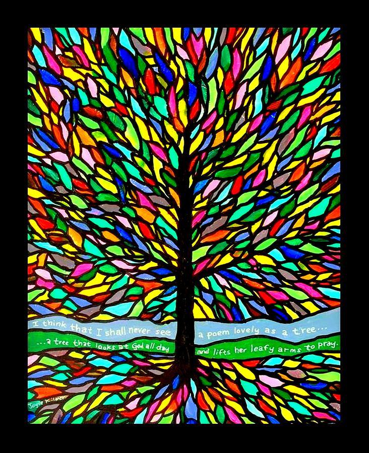 Joyce Kilmer Painting - Joyce Kilmers Tree by Jim Harris