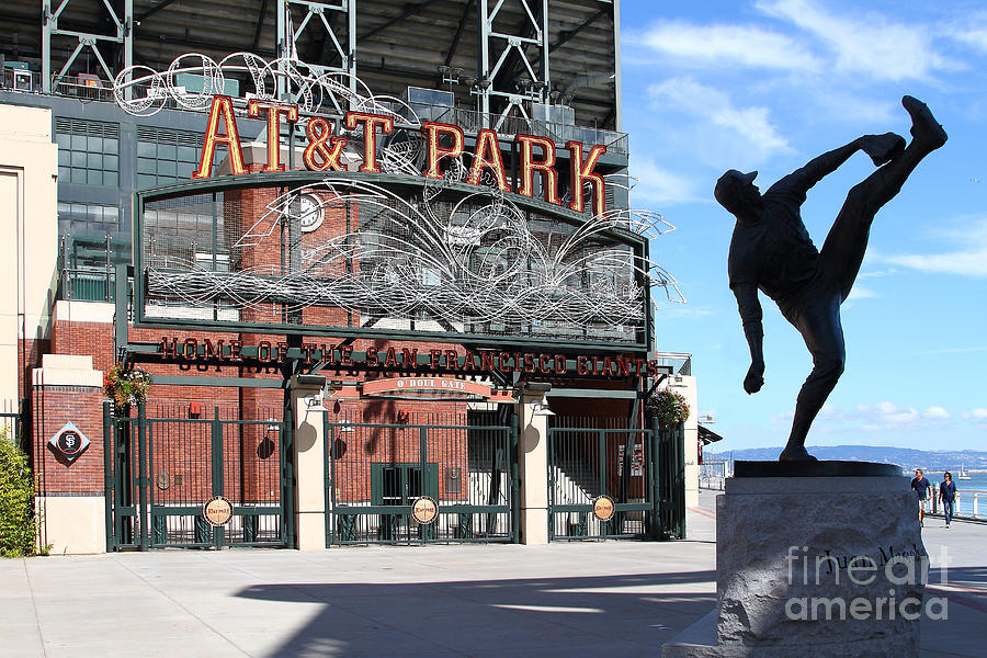 Juan Marichal At San Francisco Att Park . 7d7639 Photograph