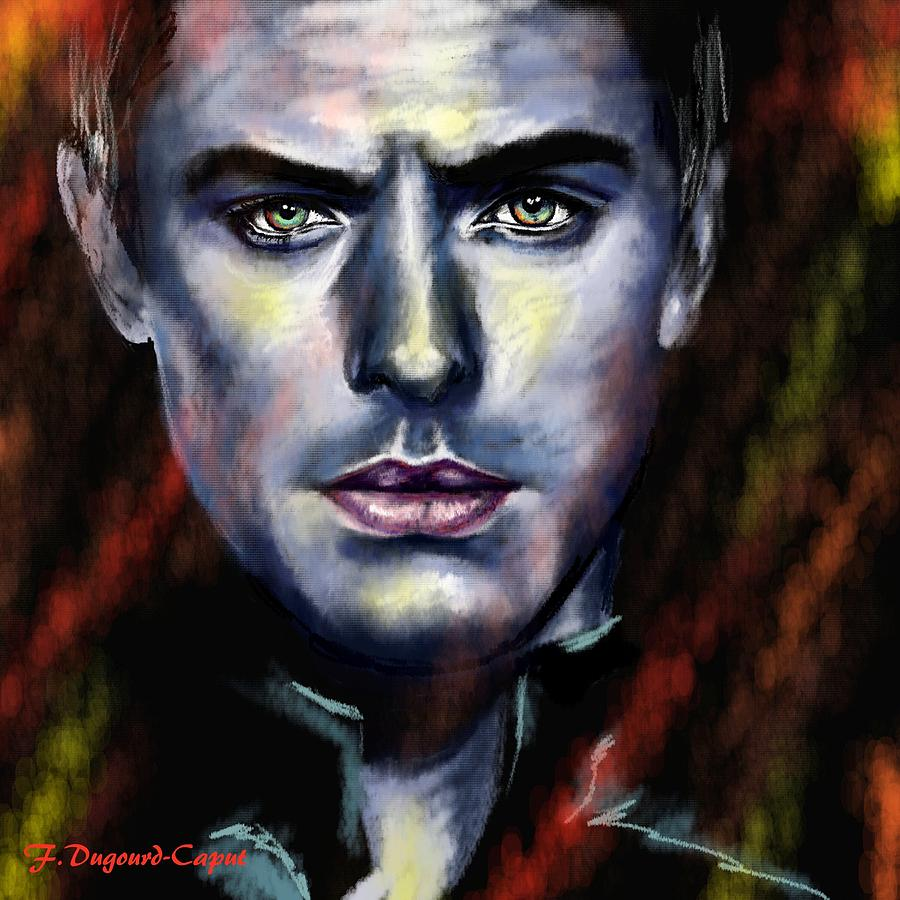 Jude Law Painting