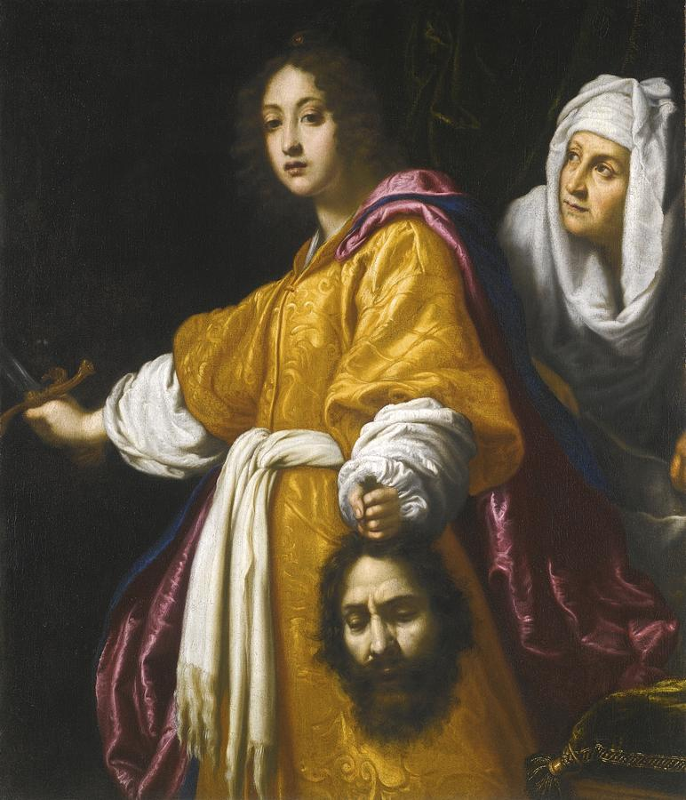 Judith With The Head Of Holofernes Painting by Celestial ...