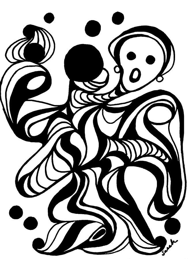 Juggling Act Drawing