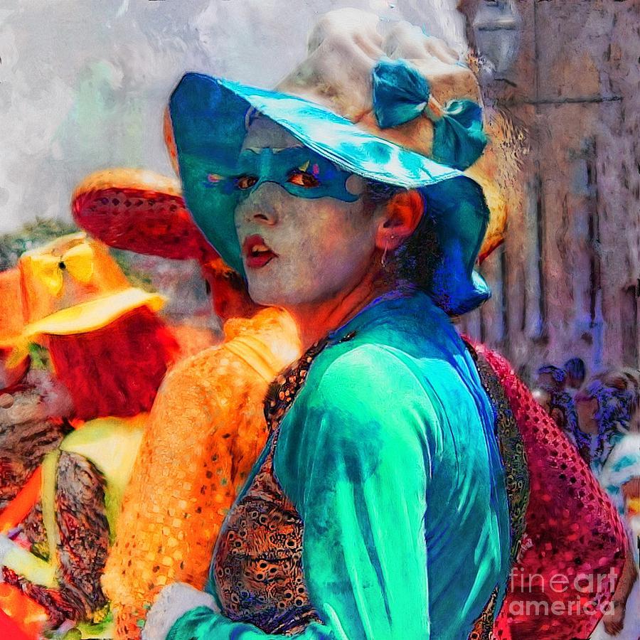 Julia At The Parade Photograph