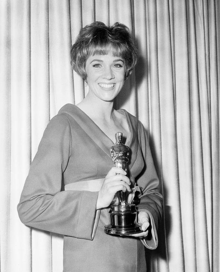 Julie Andrews, With Her Best Actress Photograph