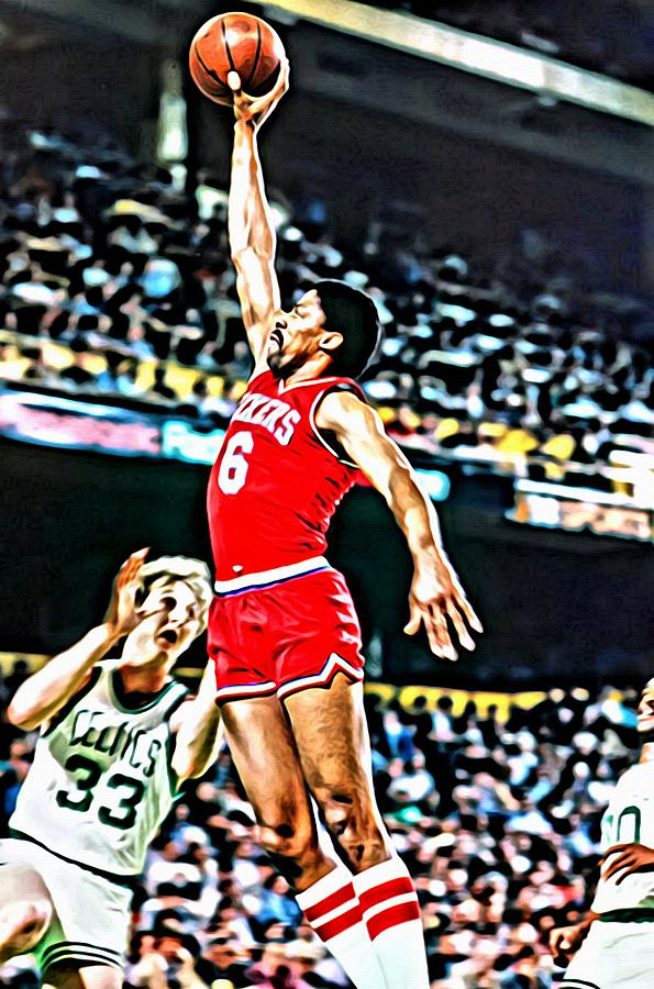 Julius Erving Painting  - Julius Erving Fine Art Print