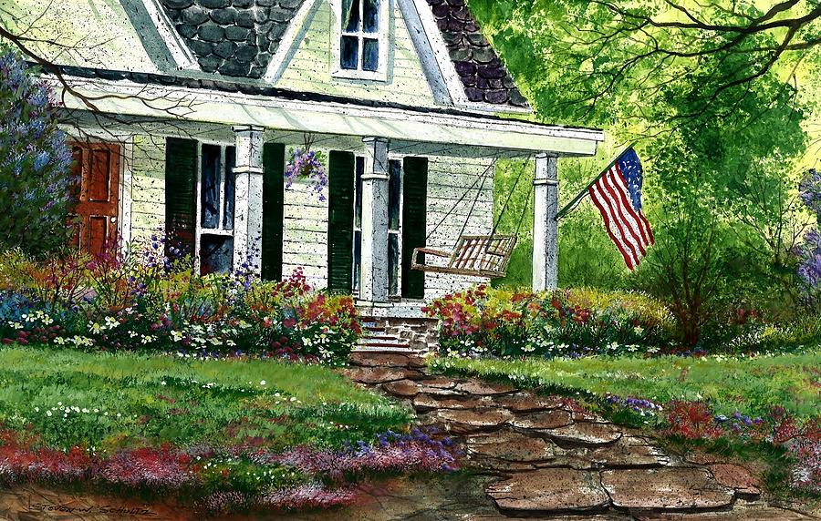 July 4th Painting