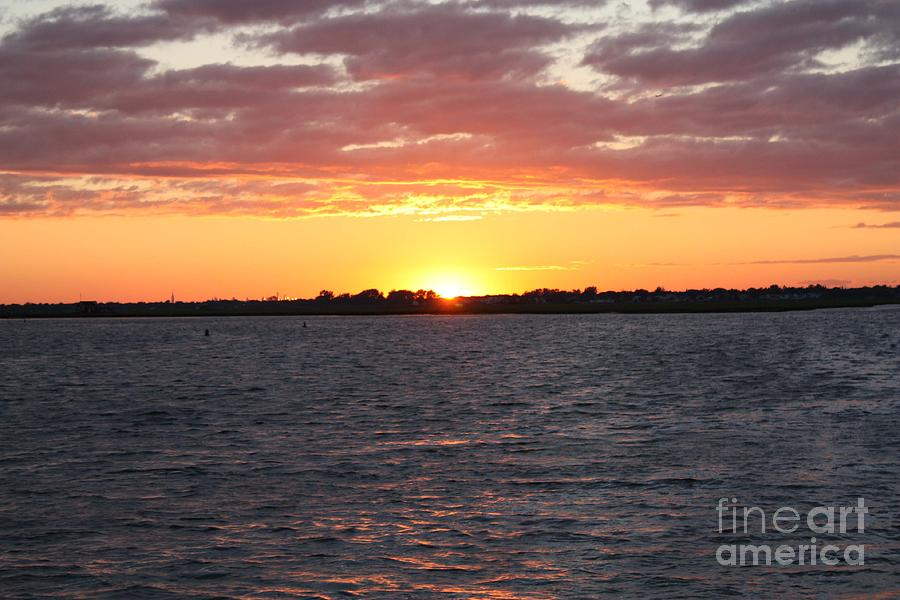 July 4th Sunset Photograph