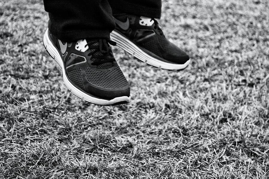 Nike Photograph - Jump... by Nick  Lawton