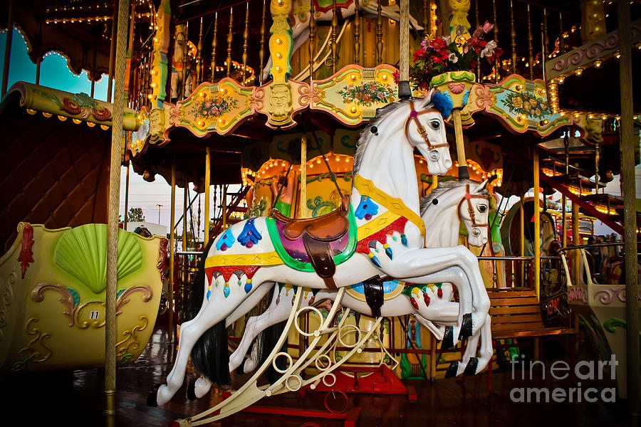 Carousel Photograph - Jumper by Colleen Kammerer